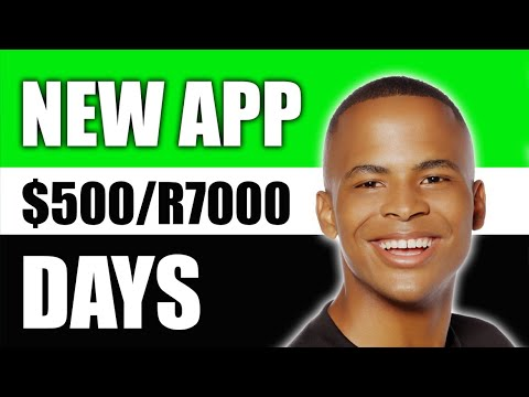 Free App Pays $500/R7000 Per Day | How To Make Money Online In South Africa