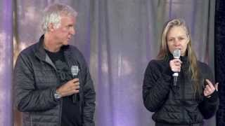 James Cameron (Avatar Director) & Suzy Amis-Cameron ~ New Frontiers