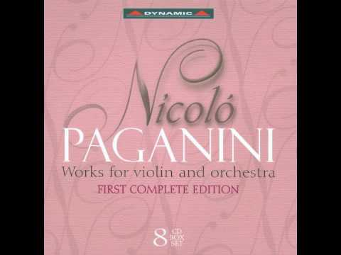 Paganini - Works for violin and orchestra 4-8