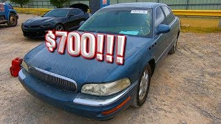 Cheap Copart $700 Win!! 2004 Buick Park Avenue Ultra - Supercharged!