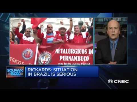 Jim Rickards - Brazil Crisis More Uncertainty Ahead - 19 May 17  | Gazunda