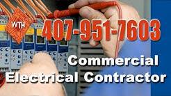 Commercial 24 Hour Electrician Orlando Florida