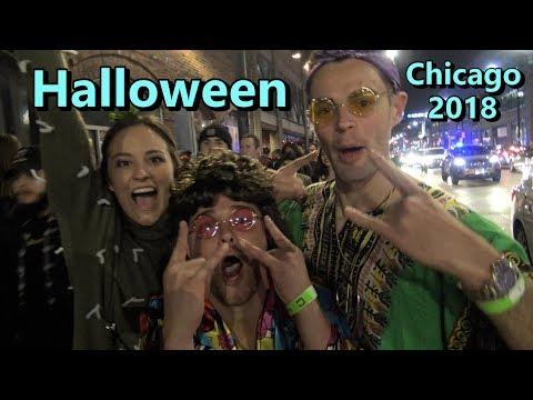 Wrigleyville Halloween Pub Crawl 2018 Chicago Costumes