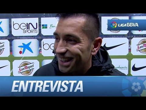 Entrevista a Charles tras el Málaga CF (1-0) Atlético de Madrid