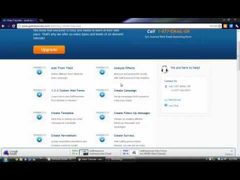 get response email marketing tutorial getting started with getget response email marketing tutorial getting started with get response