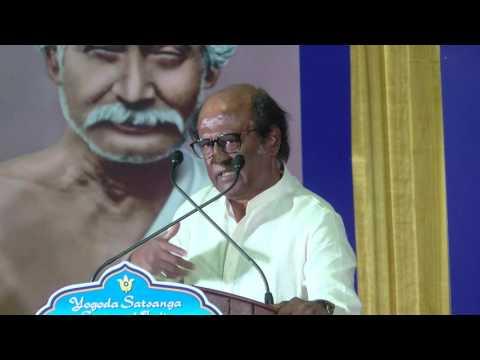 Rajinikanth Speech - Jesus Is My Top Guru - Must Watch