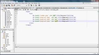 Resaltar elemento del menu de la pagina actual con HTML y Javascript