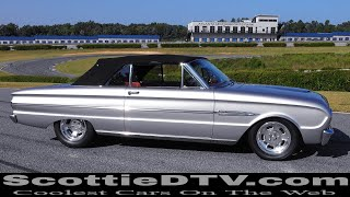 1963 Ford Falcon Convertible Concept One Pulley Systems Track Day  Atlanta Motorsports Park
