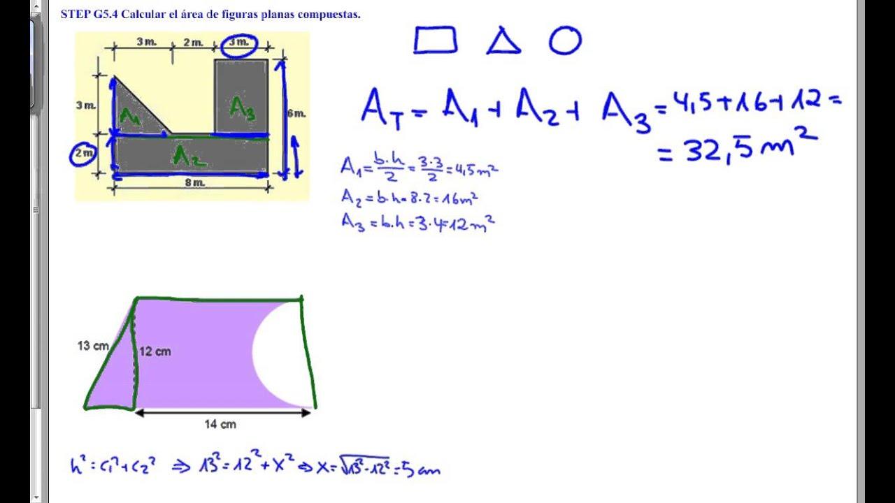 areas y perimetros de figuras planas ejercicios resueltos pdf