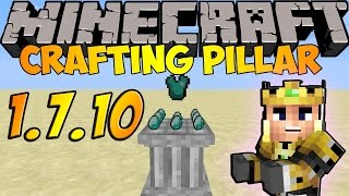 Crafting Pillar Mod para Minecraft [1.7.10] En Español