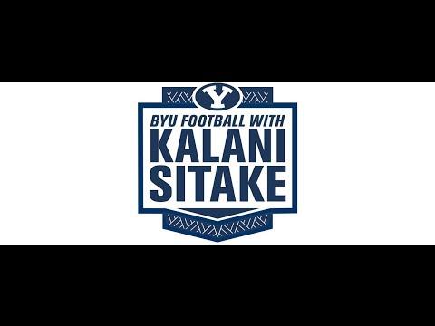 BYU Football with Kalani Sitake - November 6, 2018