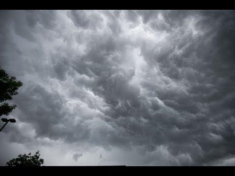 Thunderstorms move through Pennsylvania