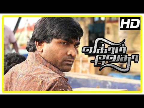 Vikram Vedha Movie Scenes | Vijay Sethupathi Reveals His Past To Madhavan  | Hareesh Peradi
