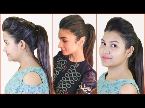Trick High Ponytail With Puff Hairstyle