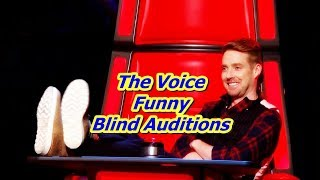The Voice - Funny Blind Auditions