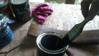 Applying Polyurethane Finish - A Tutorial