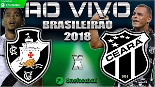 Vasco 1x1 Ceará | Brasileirão 2018 | Parciais Cartola FC | 19ª Rodada | 20/08/2018
