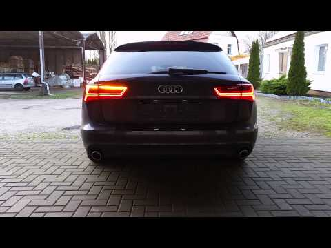 audi a6 4g facelift r ckleuchten am vorfacelift youtube. Black Bedroom Furniture Sets. Home Design Ideas