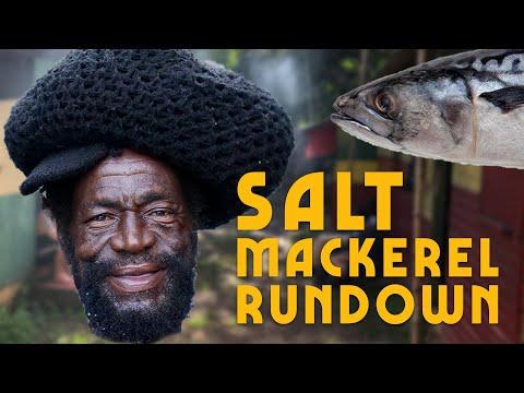 How to Cook Salt Mackerel Rundown Jamaica Style!
