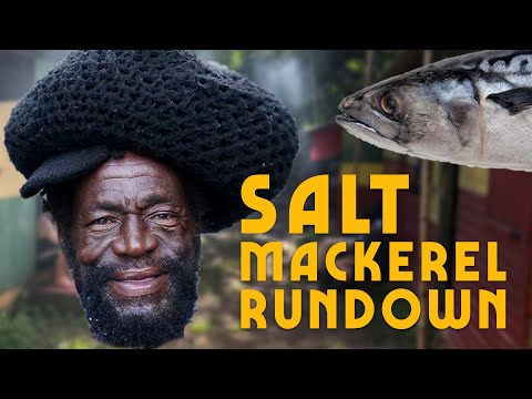How To Cook Salt Mackerel Rundown Jamaica Style!