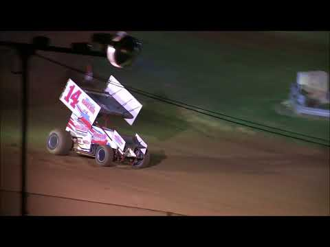 Ethan Barrow RaceSaver A Main Winner at Bloomington Speedway 9 22 17
