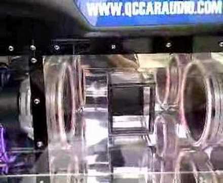JL Audio 10W6 Subwoofer Bandpass Box - YouTube