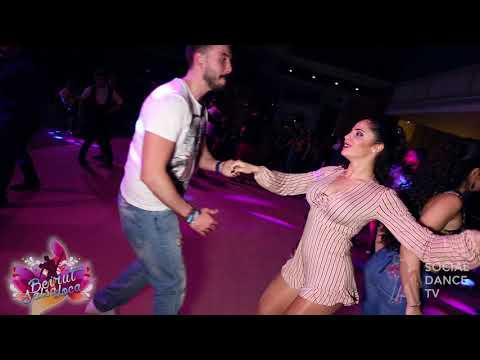 Fadi Salhani & Karen Abi Nader - Salsa social dancing   Beirut Salsa Loca 2018