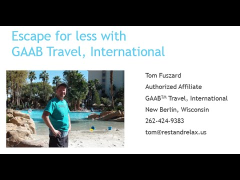Discount vacations in Orlando, Western Australia or Cayman Islands with GAAB Travel