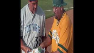 Jose Canseco #33  Fort Worth Cats in Edinburg,TX June 22 2013