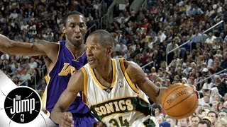 Kobe Bryant on Ray Allen among best spike blocks in NBA history | The Jump