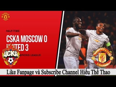 CSKA Moscow vs Manchester United | 28/09/2017 | Half time |