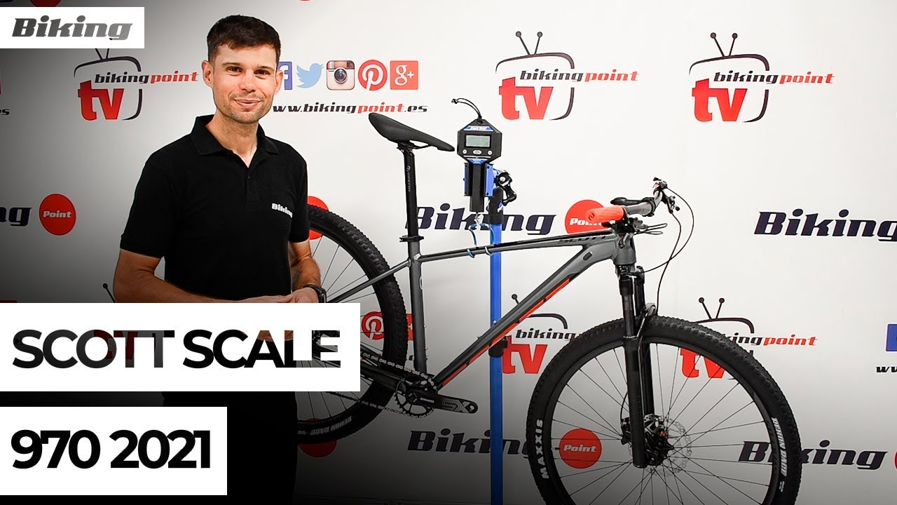 Bicicleta Scott Scale 970 2021 | Presentación