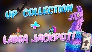 UP MA COLLECTION LAMA JACKPOT - FORTNITE SAUVER THE WORLD