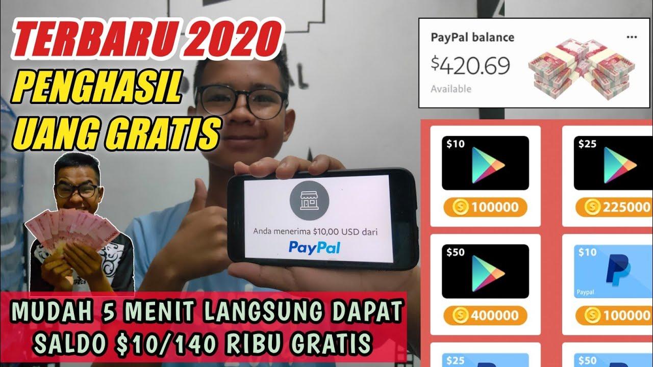 Baru Yakin Baru Rilis Aplikasi Penghasil Uang Terbukti Membayar 2020 Saldo Paypal Auto Gemuk Berita Cara Mudah Bulan Agustus 2020 Jazz Indonesia