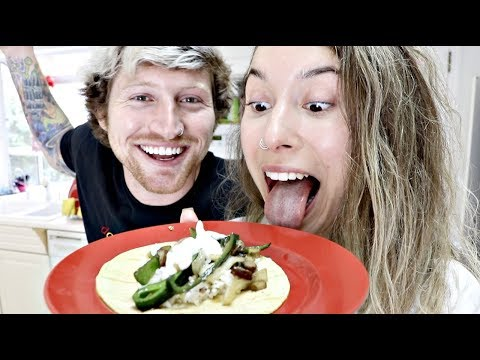 COOKING WITH KRISTEN! (Poblano Pepper Tacos)