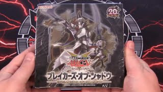 Yugioh Breakers of Shadow OCG Box Opening - New Buster Blader & Odd-Eyes Cards