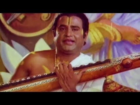 Rama Naamam Oruvedame - Sri Raghavendra Song   Rajinikanth
