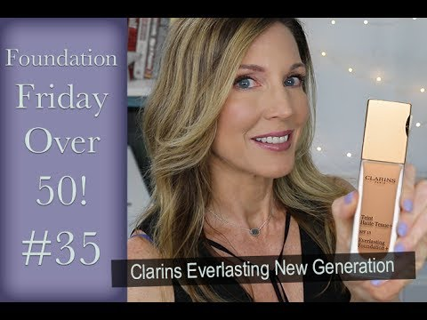 Foundation Friday Over 50   Clarins Everlasting New Generation!