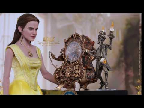 Beauty And The Beast 2017 Hot Toys Belle 1/6 Scale Movie Figure Pics & Details!