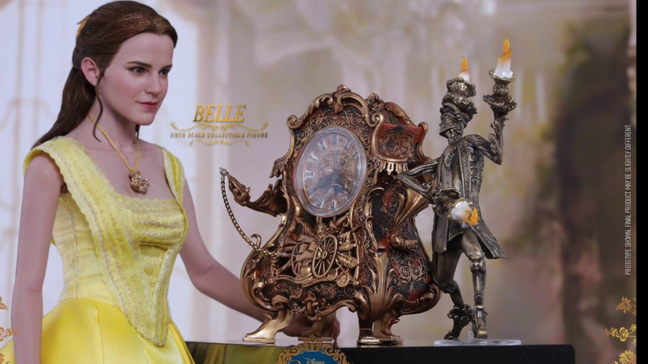 Beauty And The Beast 2017 Hot Toys Belle 1/6 Scale Movie ...