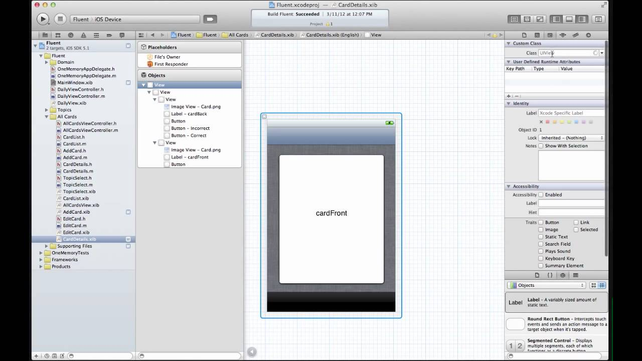 Organizing Your Interface Builder Documents
