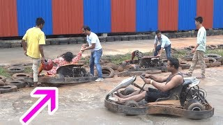 Dreamland Guwahati Funny Accident | Go Kart Racing