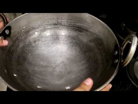 How To Clean Aluminium Kadai At Home In Hindi