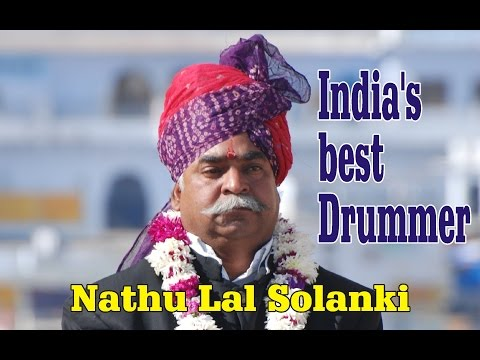India's #1 Drummer | Best Drum Performance Of Nathulal Solanki | Master Drummers Of Rajasthan