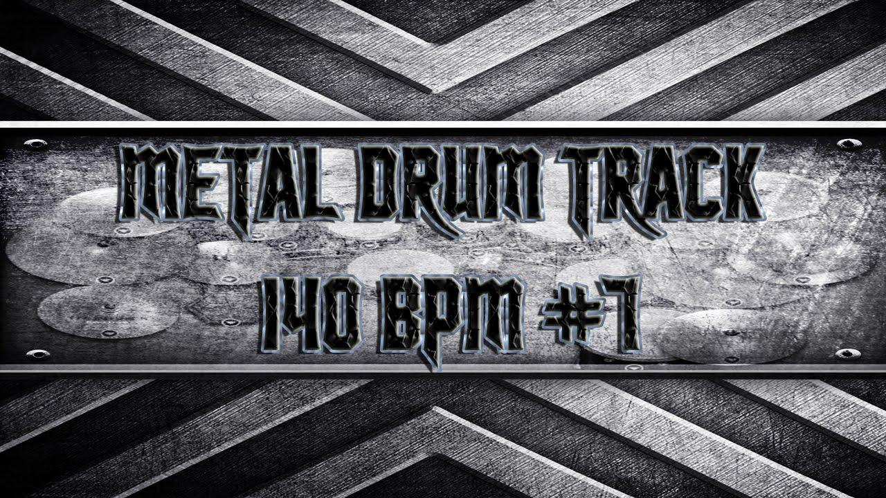 heavy metal drum track 140 bpm hq hd youtube. Black Bedroom Furniture Sets. Home Design Ideas