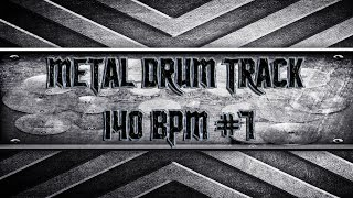 Heavy Metal Drum Track 140 BPM (HQ,HD)