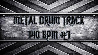 Heavy Metal Drum Track 140 BPM (HQ,HD)