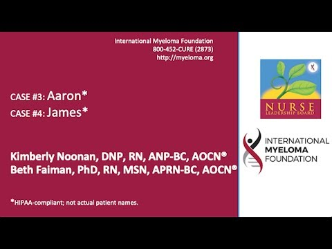 Relapsed Myeloma, Treatment for Relapsed Myeloma, Drugs in Development, Knowledge Post-Test