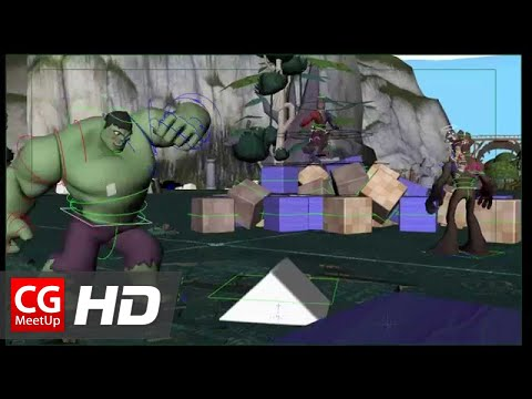 CGI Rigging Demoreel HD:  by Jared Monsen