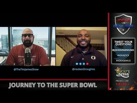 Super Bowl Champion Reuben Droughns on SB50 & Taking Home A Ring (JocksVsGeniuses)
